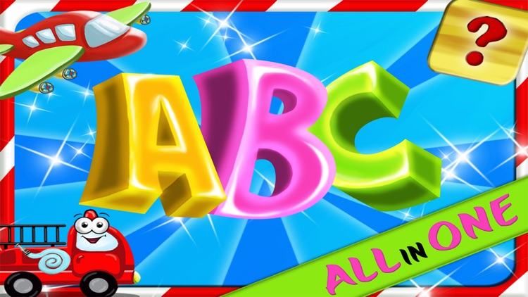 ABC All In One - Preschool Alphabet Games Collection