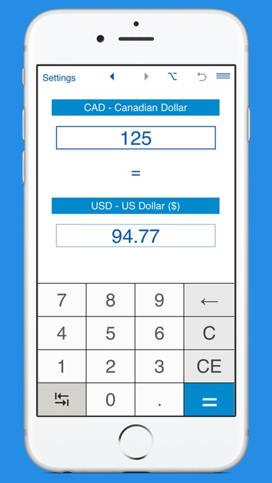 Screenshot 5 For Us Dollars To Canadian Currency Converter