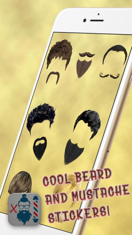 Barber Shop Pro – Hair Style.s & Beard Shave Salon and Photo Edit.or for Men screenshot-4