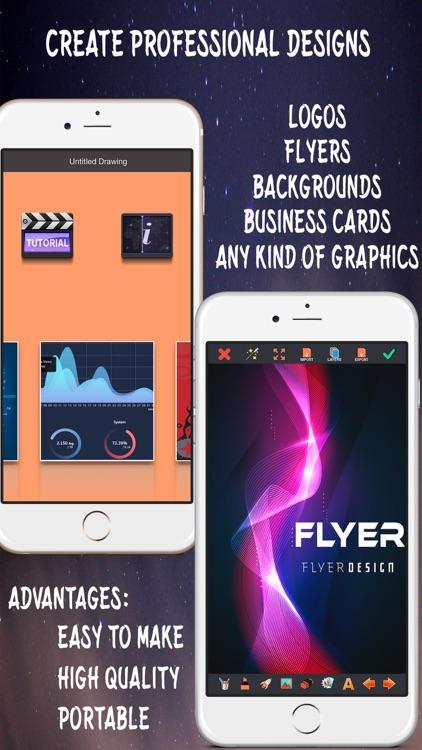 Create Flyers & Logos - Graphic creator for Logo