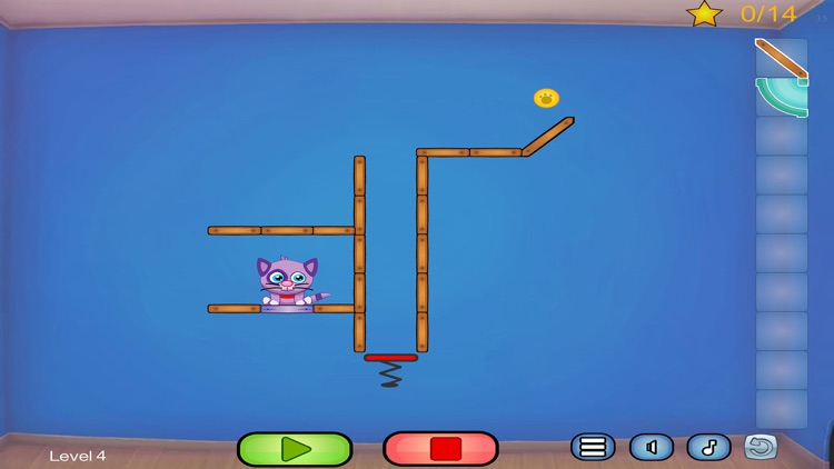 Cat Shmat - Cut the rope like Action Physics Puzzle Game screenshot-4