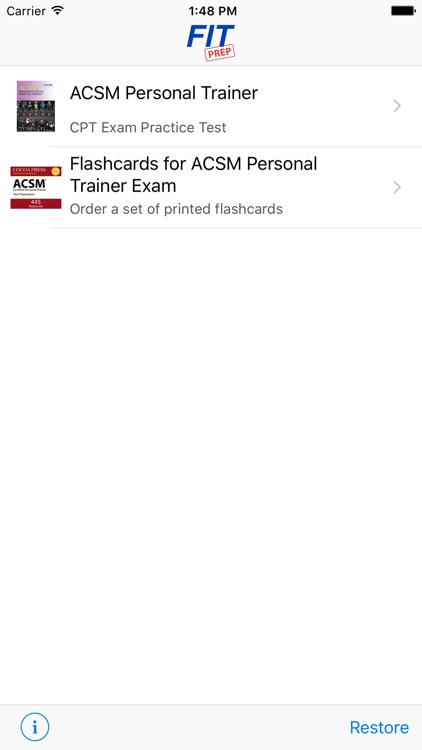 ACSM CPT Test Questions & Answers