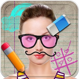 Doodle Art with Cool Effects for Photos– Draw and Create Fun Pics in Virtual Booth