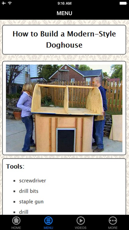 A+ How To Build Your Dog House - Step by Step Videos screenshot-3