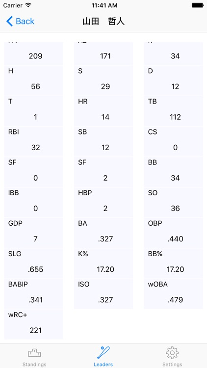 NPB Statistics screenshot-3
