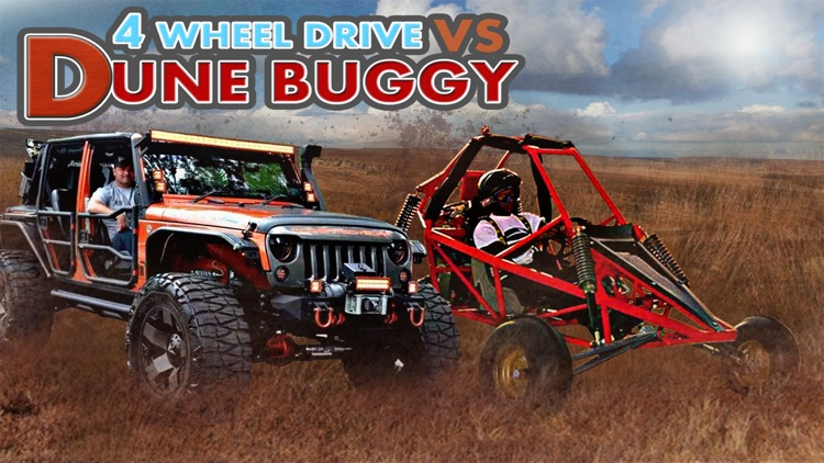 4 Wheel Drive Vs Dune Buggy - Free 3D Racing Game screenshot-0