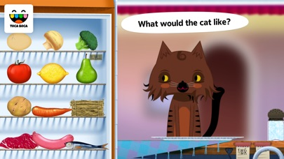 Toca Kitchen review screenshots