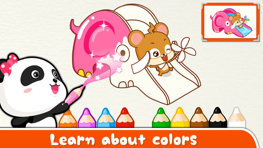 Colors -BabyBus hack tool