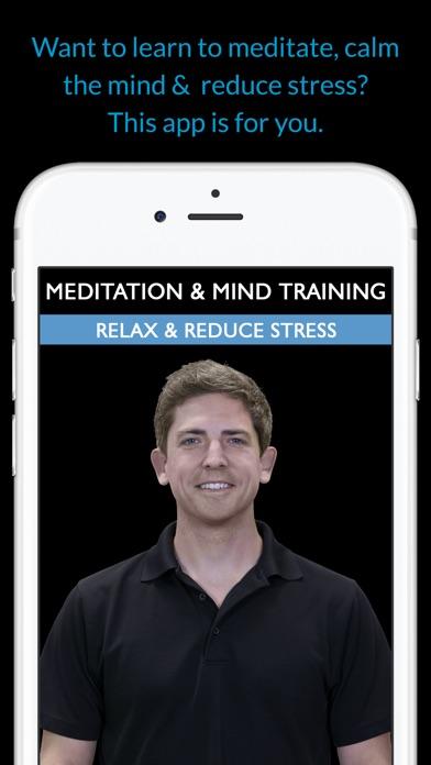 Meditation & Mind Training: Relax & Reduce Stress screenshot one