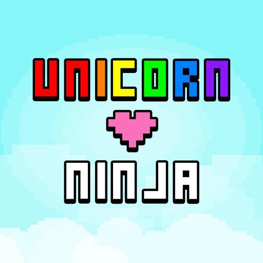 Unicorn Heart Ninja : Rainbow Escape of The Brave Hero iOS App