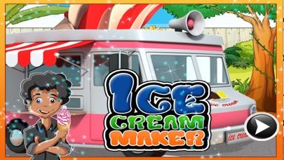 Ice Cream Maker – Dessert cooking & chef game screenshot one