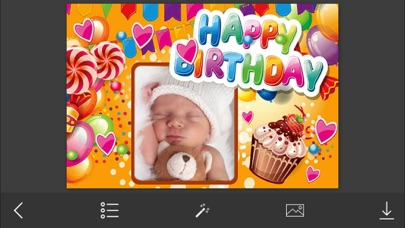 Birthday Photo Frame - Make Awesome Photo using beautiful Photo Frames screenshot one
