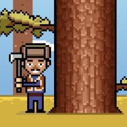 Timber Ninja - The Adventure of a Crazy Timberman
