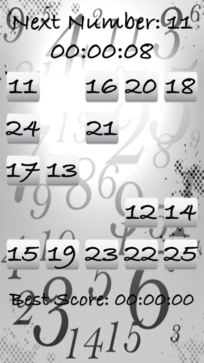 Touch the Numbers - Brainie Numbers Game screenshot-1