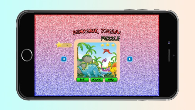 Dinosaur Jigsaw Puzzle Fun Game for Kids
