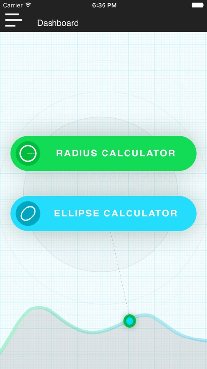 Radius & Ellipse Calculator