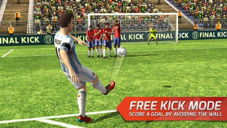 Final Kick VR - Virtual Reality free soccer game for Google Cardboard screenshot-4