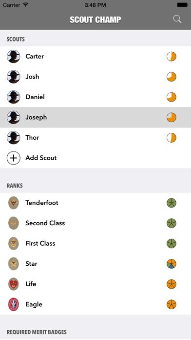 Scout Champ screenshot one