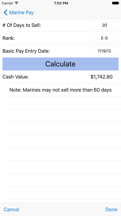 Marine Pay screenshot-1