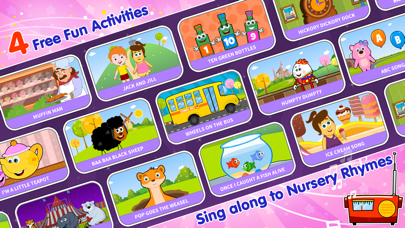 HooplaKidz Nursery Rhyme Activities (FREE) screenshot one