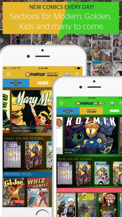 PowFolio - Free, premium comics every day! screenshot-4