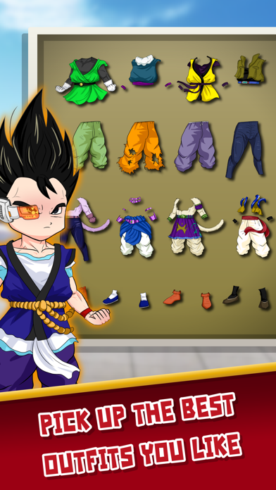 DBZ Goku Royale Dress Up  - Create Your Own Clash Super Saiyan Dragon Ball Z Edition screenshot three