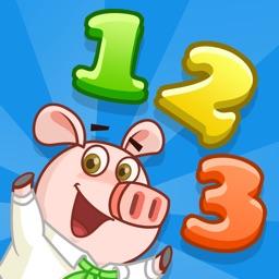 2-6岁宝宝爱数学-儿童智能早教故事益智启蒙免费应用小游戏