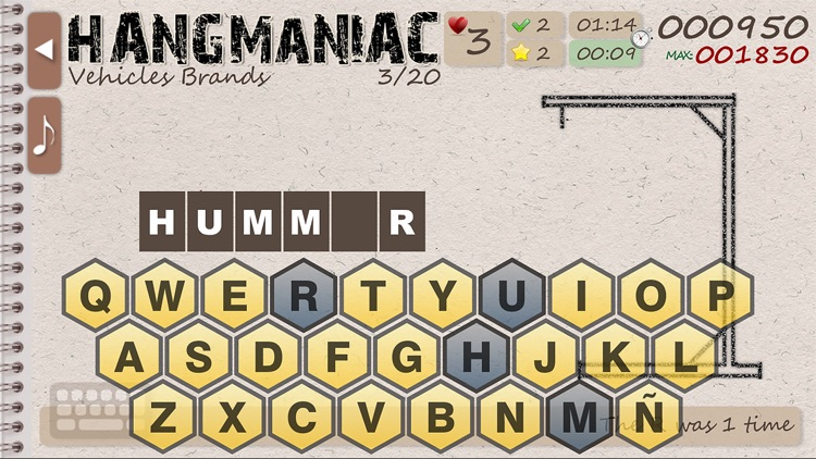 Hangmaniac screenshot-3
