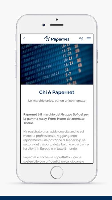 Screenshot of Papernet2