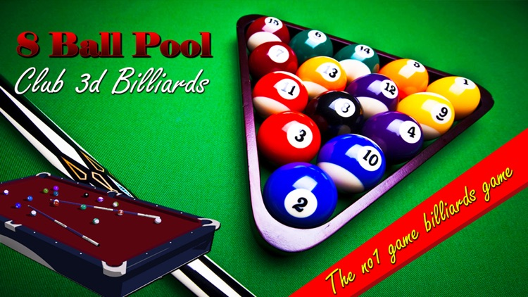 Pool Ball 3D billiards Snooker Arcade game 2k16 screenshot-0