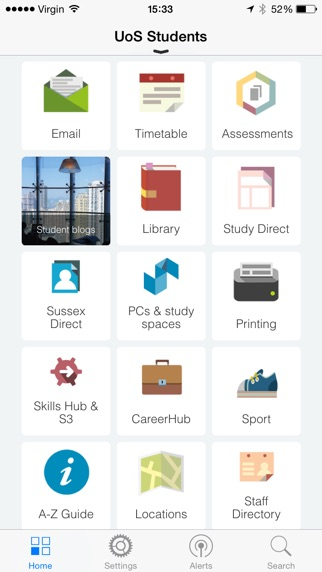 University of Sussex – SussexMobile Application-0