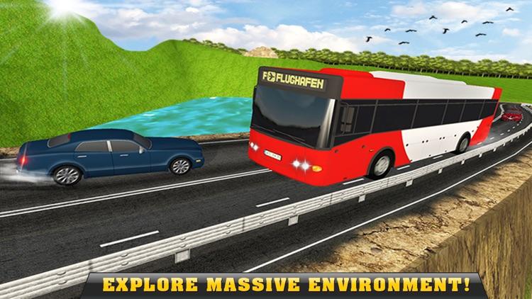 Real Off-Road Hill Tourist Bus Driver Simulator 3D screenshot-4