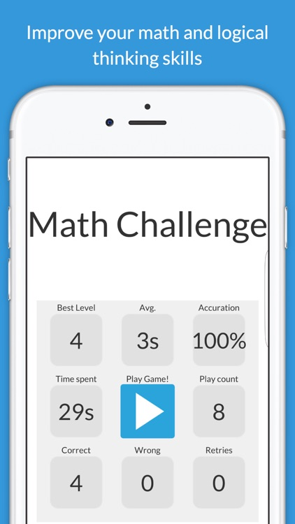 Math Challenge - Addictive Math Puzzle