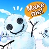 スノープラネット : 雪だるまつくろう!