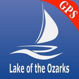 Lake of the Ozarks GPS Nautical charts