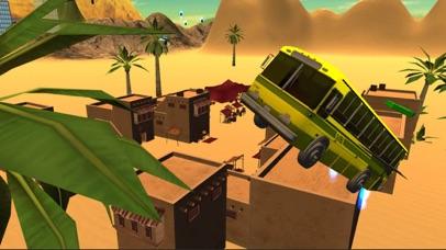 Flying Bus Driving Simulator - Racing Jet Bus Airborne Fever screenshot two