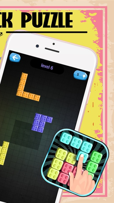 Block Puzzle Adventure Free – Best Brain Game For Kids screenshot two