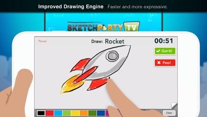 SketchParty TV Screenshots