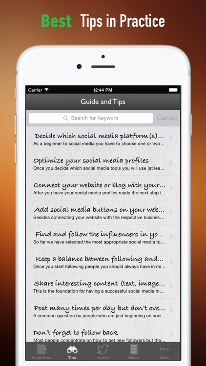 Marketing for Beginners:Social Guide and Tips screenshot-3