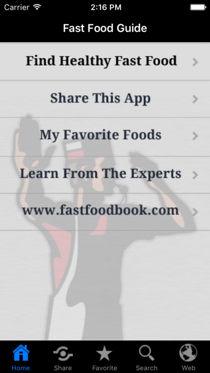 Stop & Go Fast Food Guide