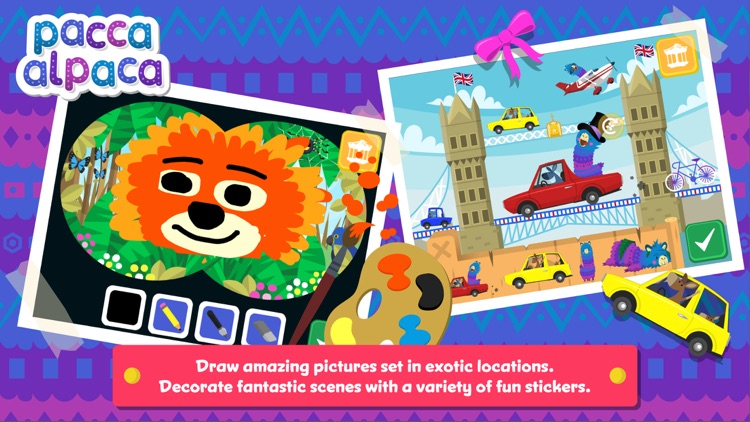 Pacca Alpaca Travel Playtime screenshot-4