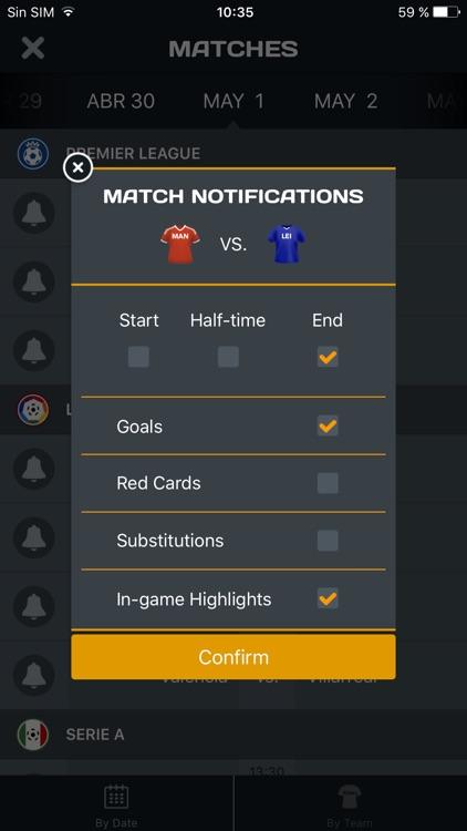 90min India - Live Soccer Scores, News, Schedules & Standings screenshot-4