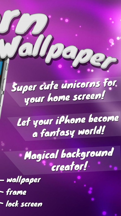 Unicorn Wallpaper Maker Custom Fantasy Backgrounds And Magic Lock Screen Themes HD Free