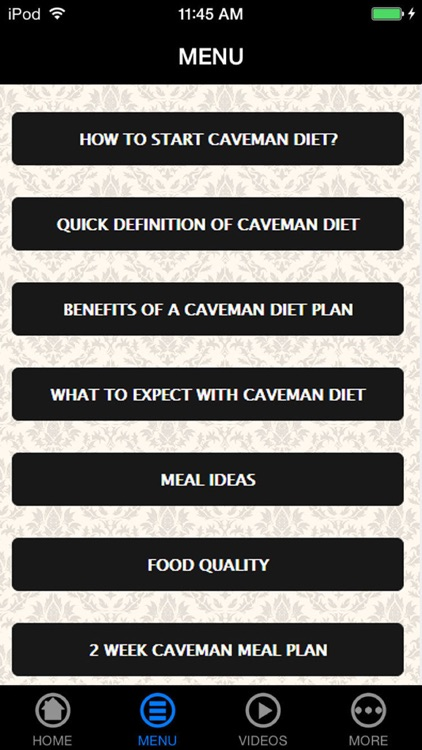 Best Caveman Diet Guide for Weight Loss- Lose Weight Permanently screenshot-4