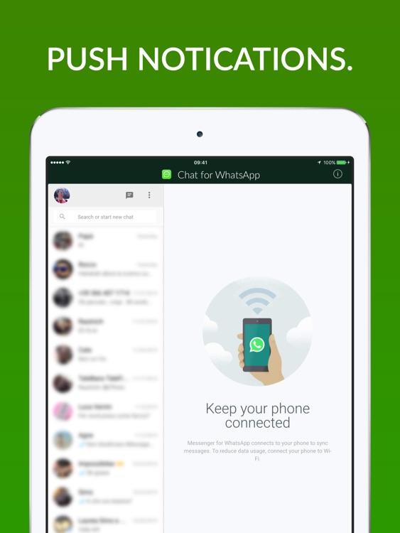 Chat for Whatsapp - iPad Version