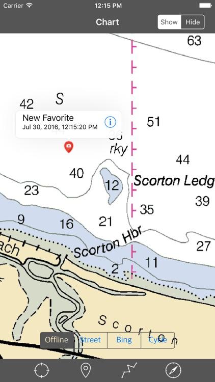 Cape Cod Bay – Raster Nautical Charts screenshot-4