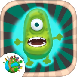 Create monsters and zombies – fun game for kids