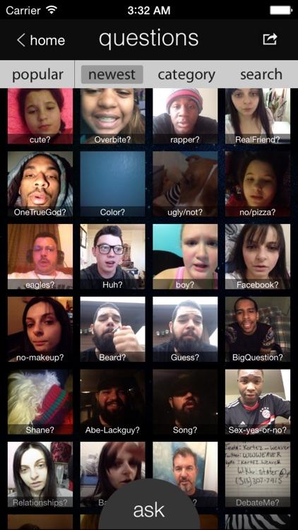 Questions Video Messenger - Ask, Show, & Tell screenshot-3