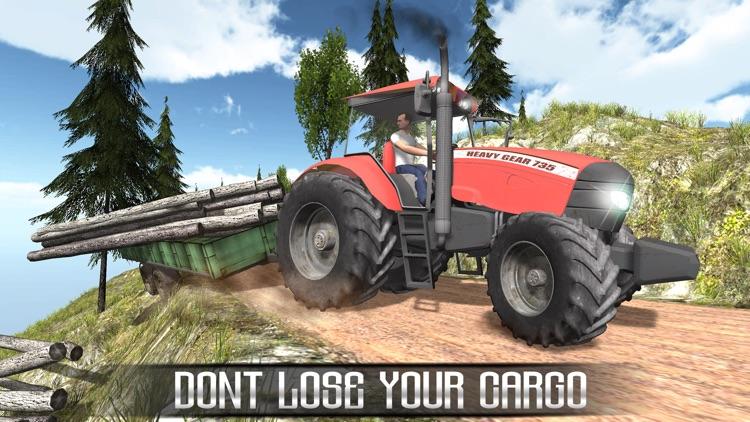 Offroad Farming Tractor Cargo