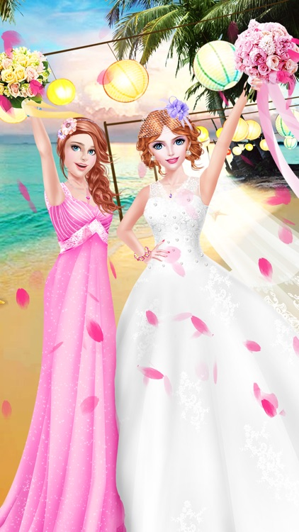 BFF Bridesmaid Salon - Wedding Day: Bridal SPA Makeup Makeover Games for Girls screenshot-4